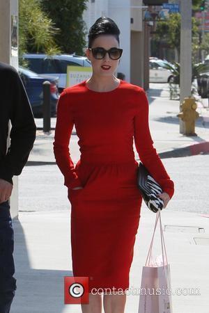 Dita Von Teese seen leaving Vivienne Westwood boutique in West Hollywood  Los Angeles, California - 23.05.11