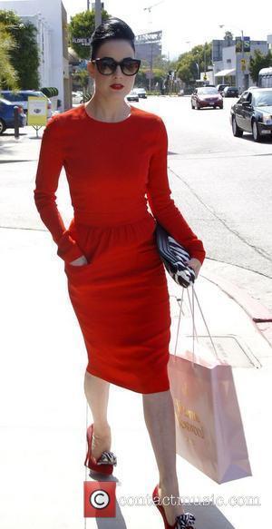 Dita Von Teese leaves Vivienne Westwood boutique in West Hollywood Los Angeles, California - 23.05.11