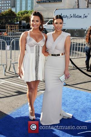 Demi Lovato, Kim Kardashian  2011 Do Something Awards - Arrivals held at the Hollywood Palladium Hollywood, California - 14.08.11