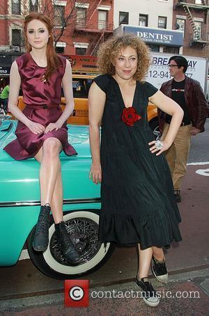 Karen Gillan and Kingston 'Doctor Who' screening held at the Village East Cinema New York City, USA - 11.04.11