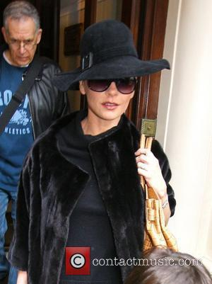 Catherine Zeta-Jones leaving her hotel London, England - 25.02.11