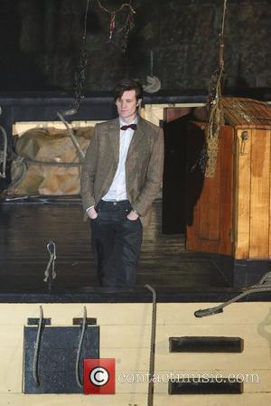 Matt Smith  on the film set of 'Dr Who' in Cornwall.  Cornwall, England - 02.02.11
