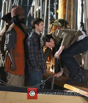 Matt Smith filming a scene on the film set of 'Dr Who' shooting on location in Cornwall Cornwall, England -...