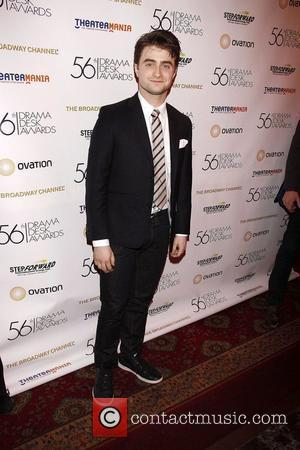 Daniel Radcliffe  The Official Reception for the 2011 Drama Desk Award Nominees held at Bombay Palace Restaurant. New York...