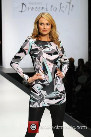Stacy Keibler 'Dressed To Kilt' charity fashion show at Hammerstein Ballroom. New York City, USA - 05.04.11