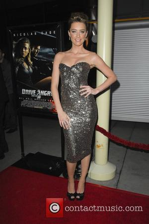 Amber Heard  Los Angeles Screening of Drive Angry held at the ArcLight Hollywood Theatre Los Angeles, California - 22.02.11