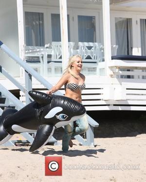Lacey Schwimmer attending a 'Dancing With The Stars' Malibu beach party Malibu Beach, California - 25.08.11