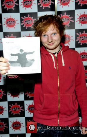 Singer-songwriter Ed Sheeran meets fans and signs copies of his single 'The A Team' at Fopp London, England - 13.06.11