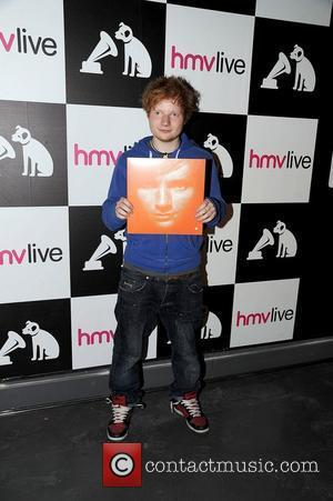 Pop sensation Ed Sheeran signing at HMV. Manchester, England - 15.09.11