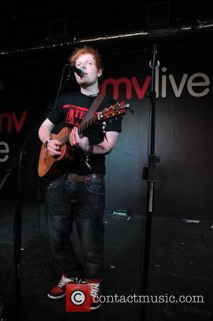 Pop sensation Ed Sheeran performs at HMV. Manchester, England - 15.09.11