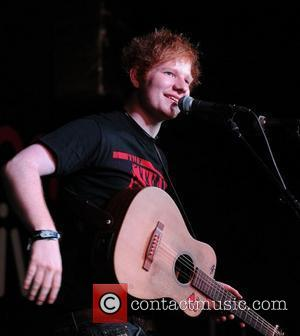 Pop sensation Ed Sheeran performs at HMV. Manchester, England - 15.09.11