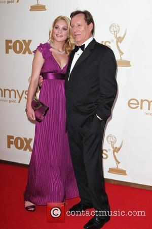 James Woods and Ashley Madison  The 63rd Primetime Emmy Awards held at the Nokia Theater LA LIVE - Arrivals...