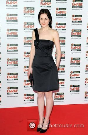 Michelle Dockery The Jameson Empire Awards held at the Grosvenor House - Arrivals. London, England - 27.03.11