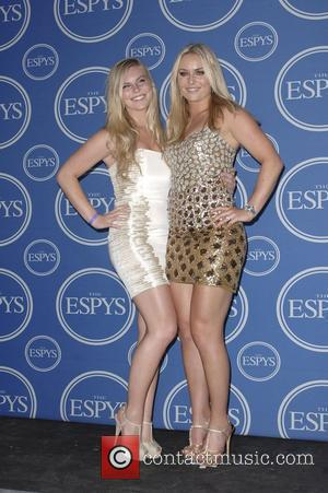 Lindsey Vonn, sister  The 2011 ESPY Awards held at the Nokia Theatre L.A. Live - Pressroom Los Angeles, California...