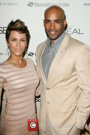 Nicole Ari Parker and Boris Kodjoe 4th Annual ESSENCE Black Women In Hollywood Luncheon held at the Beverly Hills Hotel...