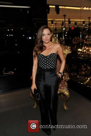 Rose McGowan Fashion Night Out - Dolce & Gabbana launch the Passion Duo lipstick New York City, USA - 08.09.11...