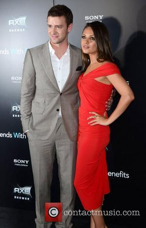 Justin Timberlake, Mila Kunis New York premiere of 'Friends with Benefits', held at the Ziegfeld Theater - Arrivals New York...