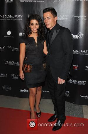 Katie Melua and guest The Global party held at the Natural History Museum - Arrivals  London, England - 08.09.11
