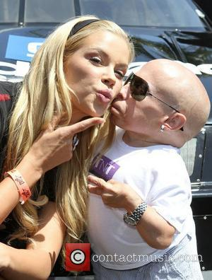 Playmate 2011 Jessa Hinton, Verne Troyer at the Celebrity Go-Kart Tournament benefiting the American Diabetes Association at K1 Speed Indoor...