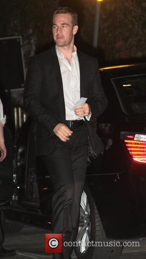 James Van Der Beek GQ Magazine's 2011 Men Of The Year party at Chateau Marmont - Outside Arrivals Los Angeles,...
