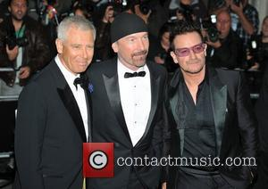 U2 2011 GQ Men of the Year Awards held at the Royal Opera House - Arrivals. London, England - 06.09.11