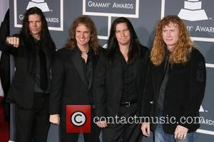 Megadeth The 53rd Annual GRAMMY Awards at the Staples Center - Red Carpet Arrivals Los Angeles, California - 13.02.11