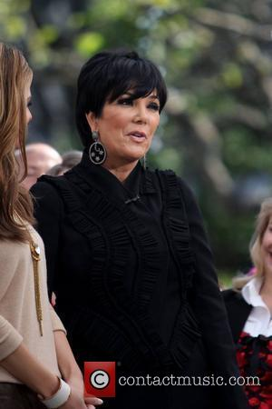 Kris Jenner is seen at The Grove for an interview on 'Extra' in Hollywood Los Angeles, California - 07.11.11