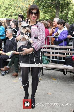 Karl Lagerfeld and Anna Wintour The 21st Annual Tompkins Square Halloween Dog Parade New York City, USA - 22.10.11