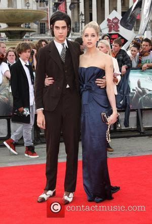 Peaches Geldof and Thomas Cohen 'Harry Potter and The Deathly Hallows - Part 2' World Premiere - Arrivals London, England...