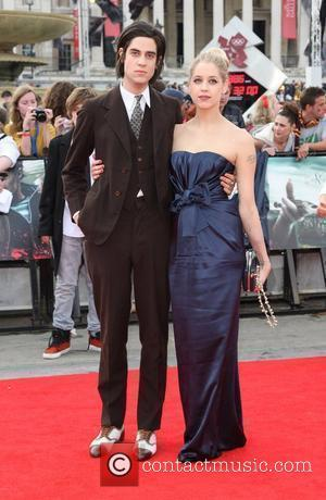 Peaches Geldof and boyfriend The World premiere of Harry Potter and the Deathly Hallows part 2 - Arrivals London, England...