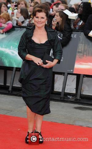 Imelda Staunton,  Harry Potter And The Deathly Hallows: Part 2 - world film premiere held on Trafalgar Square -...