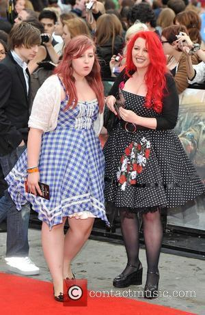 Jane Goldman and daughter Harry Potter And The Deathly Hallows: Part 2 - world film premiere held on Trafalgar Square...