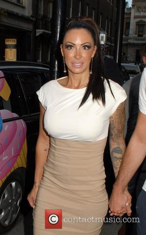 Jodie Marsh,  at the Embassy Club London for HD Brows launch party. London, England - 31.05.11