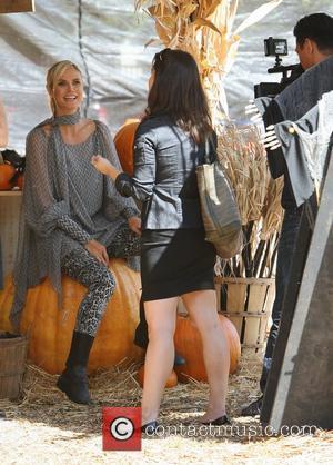 Heidi Klum Heads To Vegas For Halloween
