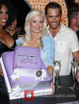 Holly Madison and Josh Strickland Holly Madison and the cast of Peepshow celebrate two remarkable years at Planet Hollywood Resort...