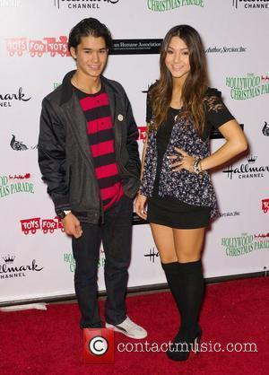 Boo Boo Stewart and Fivel Stewart  The 80th Anniversary of The Hollywood Christmas Parade benefiting Marine Toys For Tots...