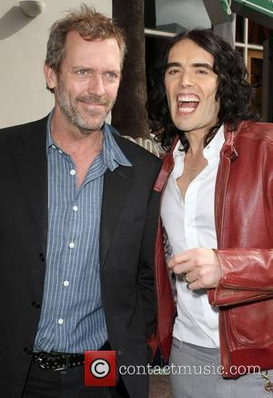 Hugh Laurie, Russell Brand Los Angeles premiere of 'Hop' at Universal Studios Hollywood Universal City, California 27.03.11