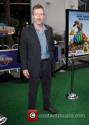 Hugh Laurie Los Angeles premiere of 'Hop' at Universal Studios Hollywood Universal City, California 27.03.11