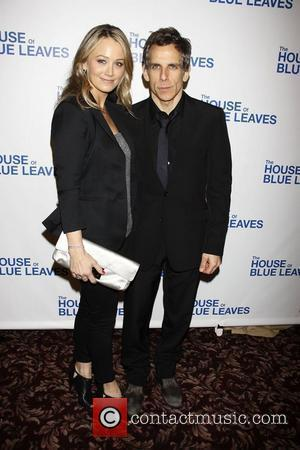 Christine Taylor and Ben Stiller Opening night after party for the Broadway production of 'The House Of Blue Leaves' held...