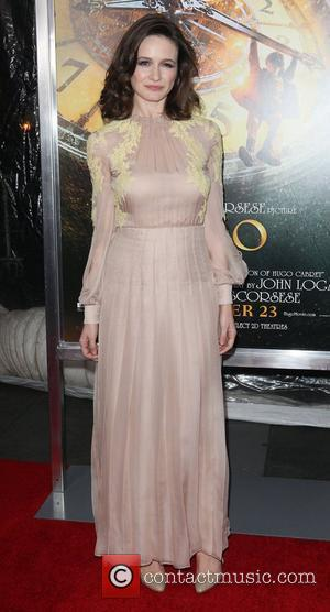 Emily Mortimer,  at the 'Hugo' premiere shown at the Ziegfeld Theatre. New York City, USA - 21.11.11