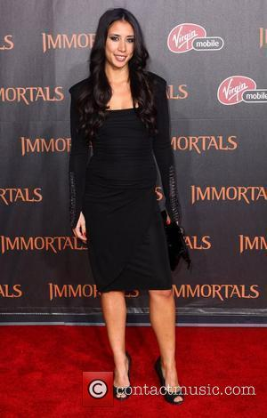 Stephanie Sigman 'Immortals 3D' Los Angeles premiere at Nokia Theatre L.A. Live  Los Angeles, California - 07.11.11