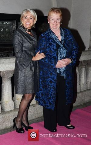 Sarah Greene and guest The Inspiration Awards For Women 2011 held at Cadogan Hall London, England - 07.10.11