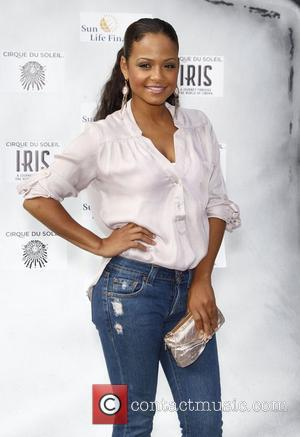 Christina Milian The Cirque Du Soleil world premiere of 'Iris: A Journey Into The World Of Cinema' held at the...