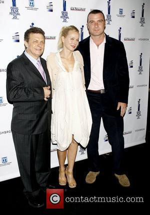 Meir Fenigstein, Naomi Watts and Liev Schreiber  The 25th Israel Film Festival Awards held at The Plaza Hotel. New...