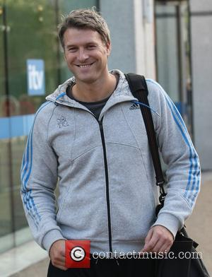 Dan Lobb at the ITV studios London, England - 11.10.11