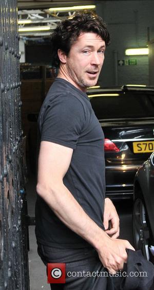 Aidan Gillen outside the ITV studios London, England - 20.05.11