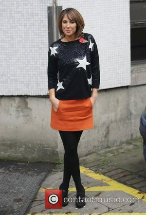Alex Jones at the ITV studios London, England - 03.11.11