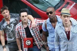 Duncan James, Antony Costa and Lee Ryan