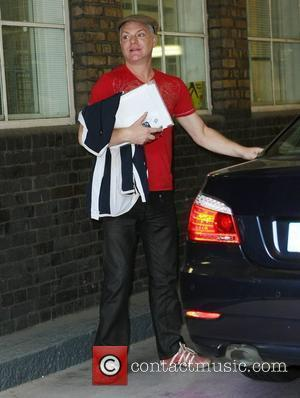 Andy Bell of Erasure outside at the ITV studios London, England - 03.06.11