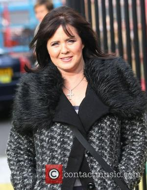 Coleen Nolan at the ITV studios London, England - 23.11.11